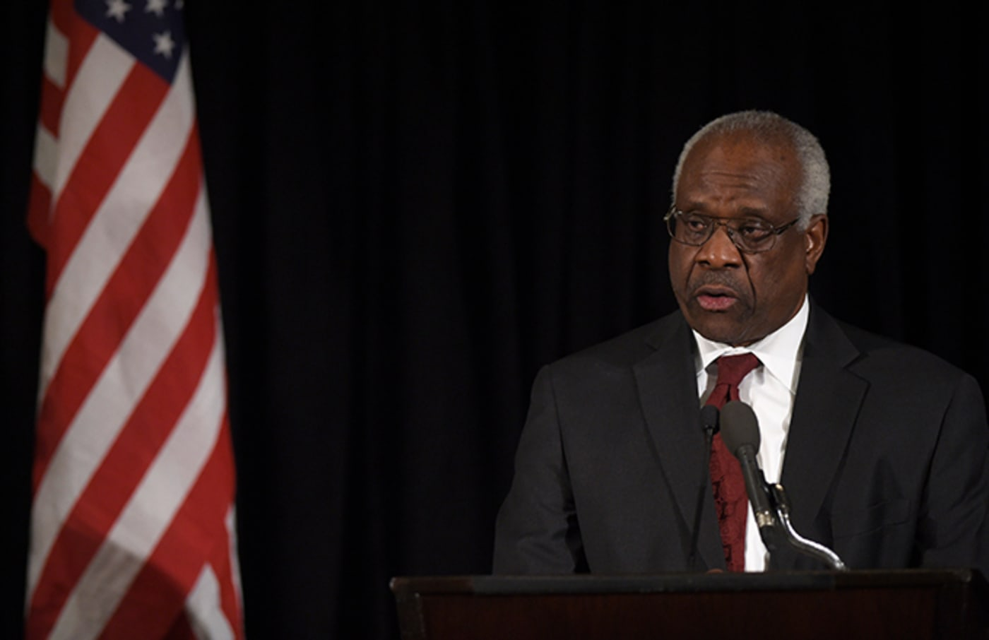 This is a photo of Clarence Thomas.
