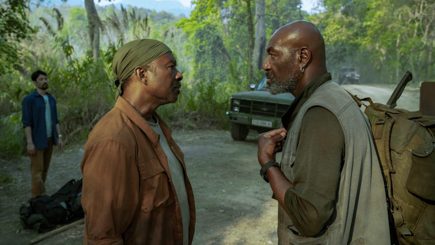 Clarke Peters and Delroy Lindo in Spike Lee's Netflix Film 'Da 5 Bloods'