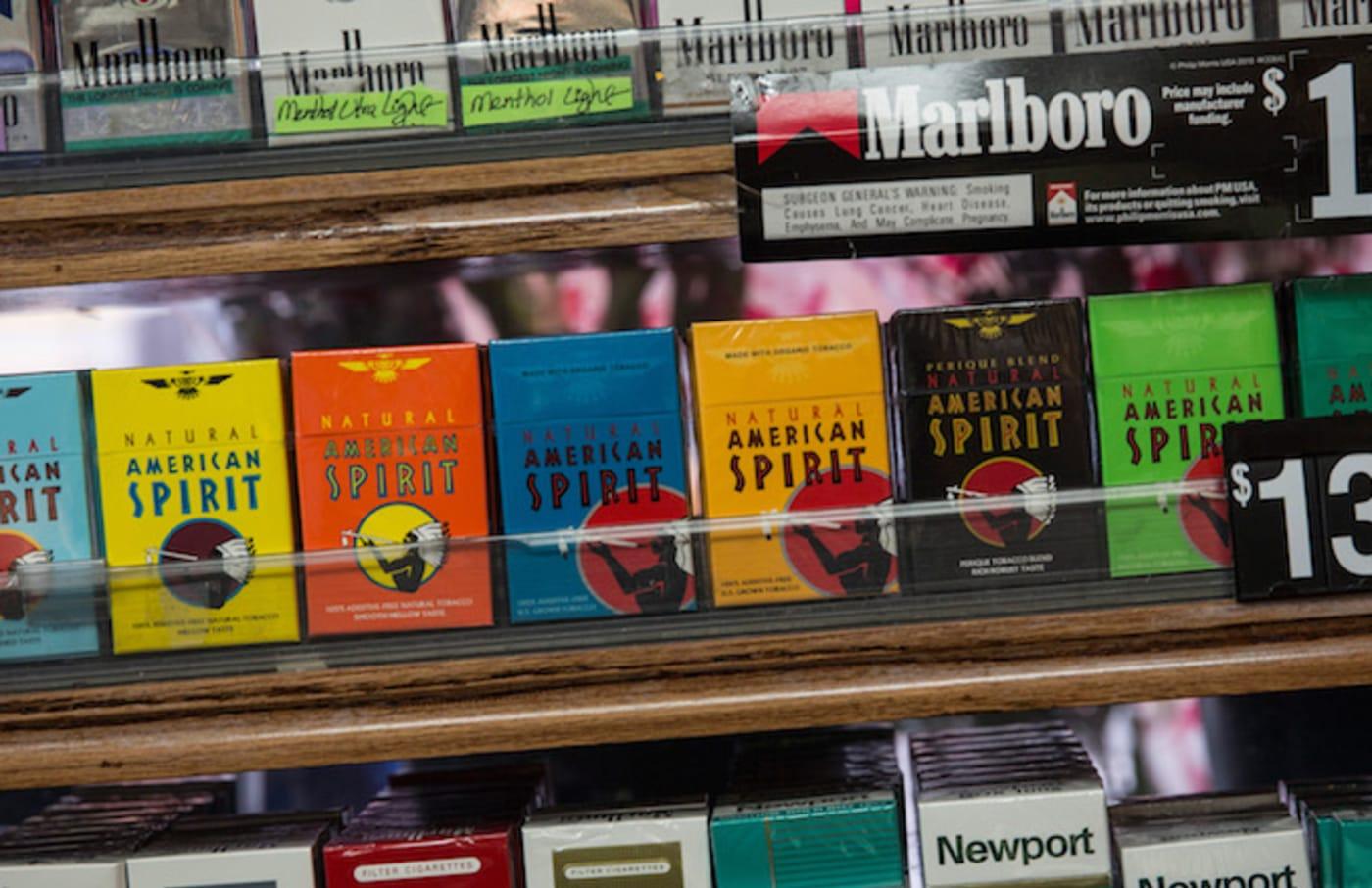 Cigarettes American Spirit