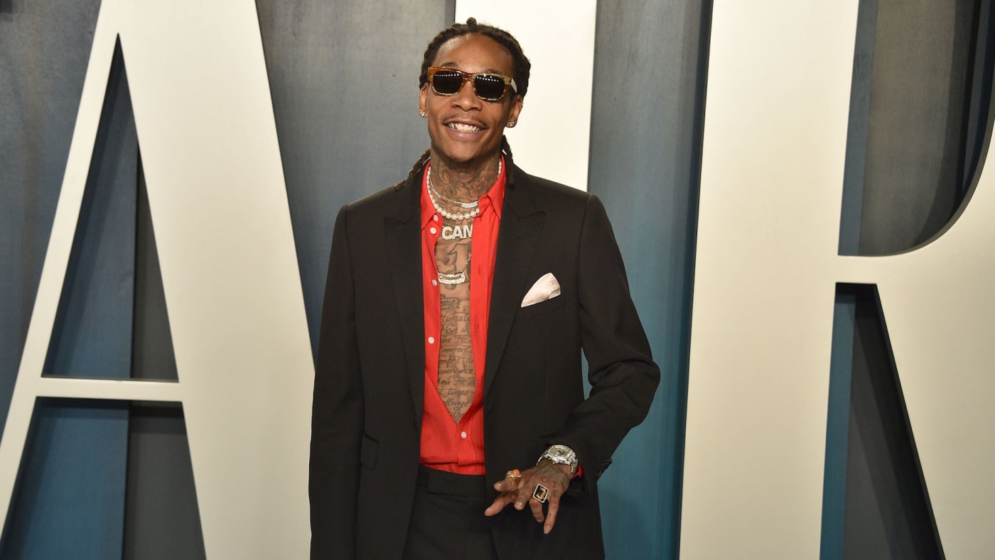 Wiz Khalifa attends the 2020 Vanity Fair Oscar Party
