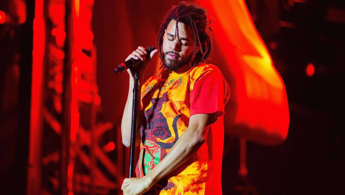 J. Cole 2018 live
