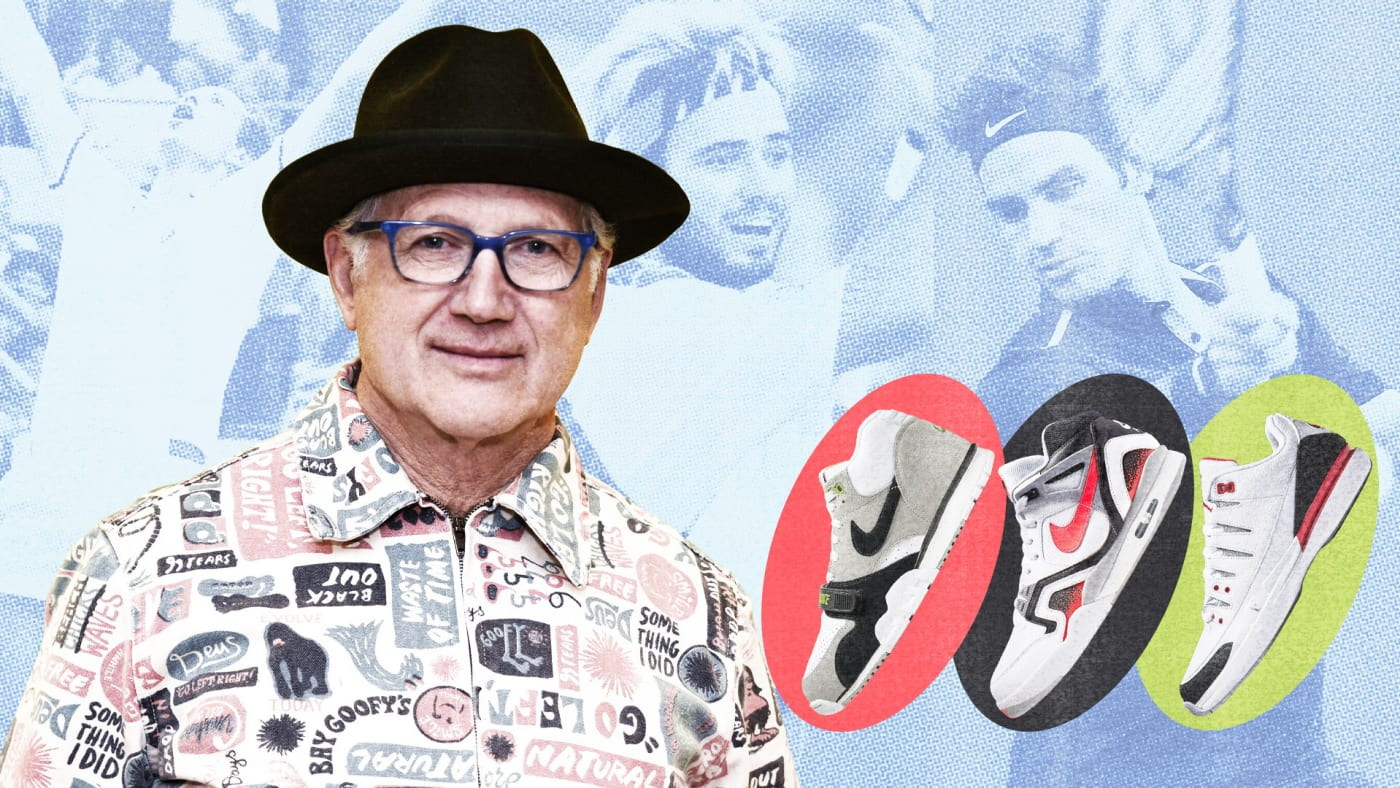 How Tinker Hatfield Changed Tennis Sneakers