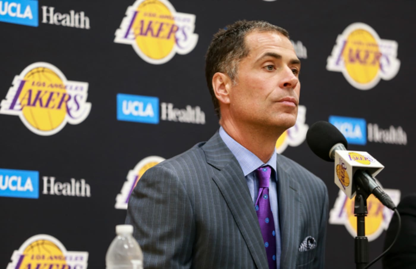 General Manager Rob Pelinka