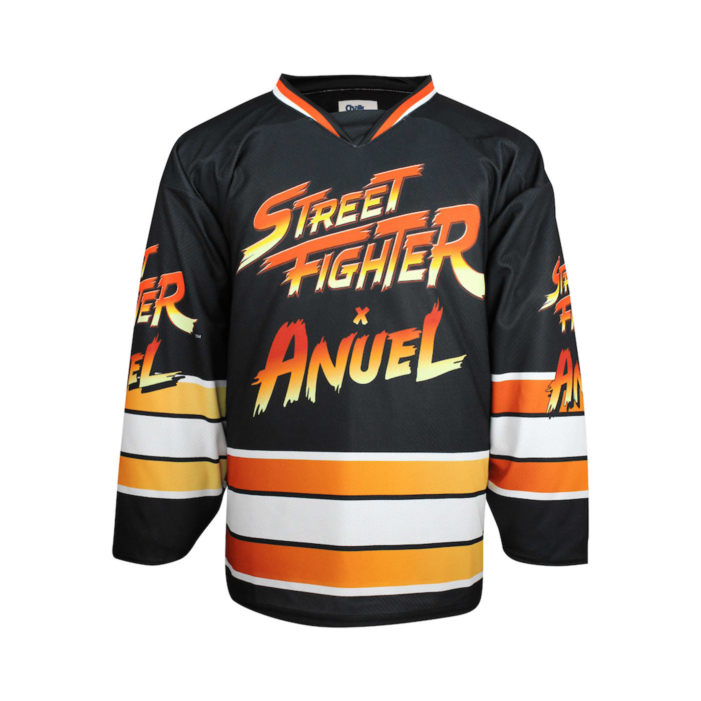 Anuel AA vs. Street Fighter