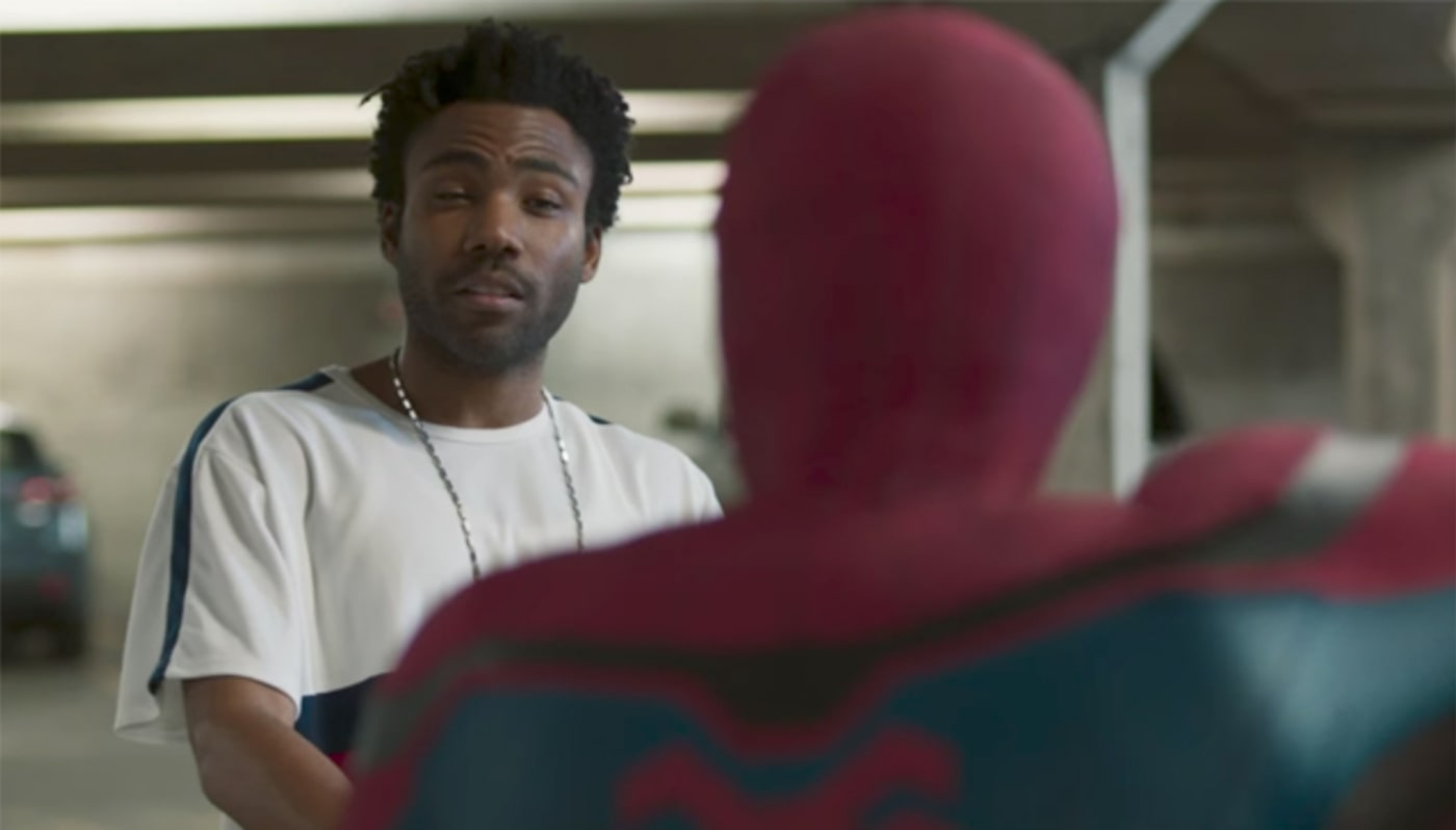 Donald Glover in 'Spider Man: Homecoming'