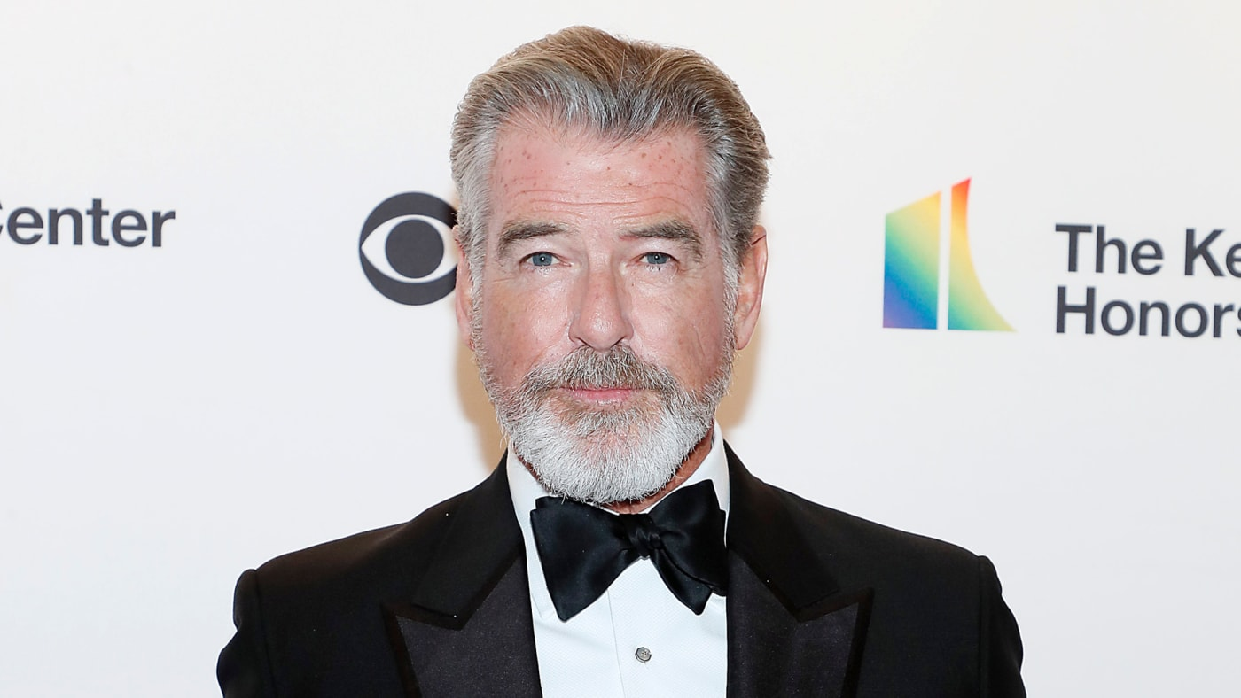 Pierce Brosnan attends the 42nd Annual Kennedy Center Honors Kennedy Center.