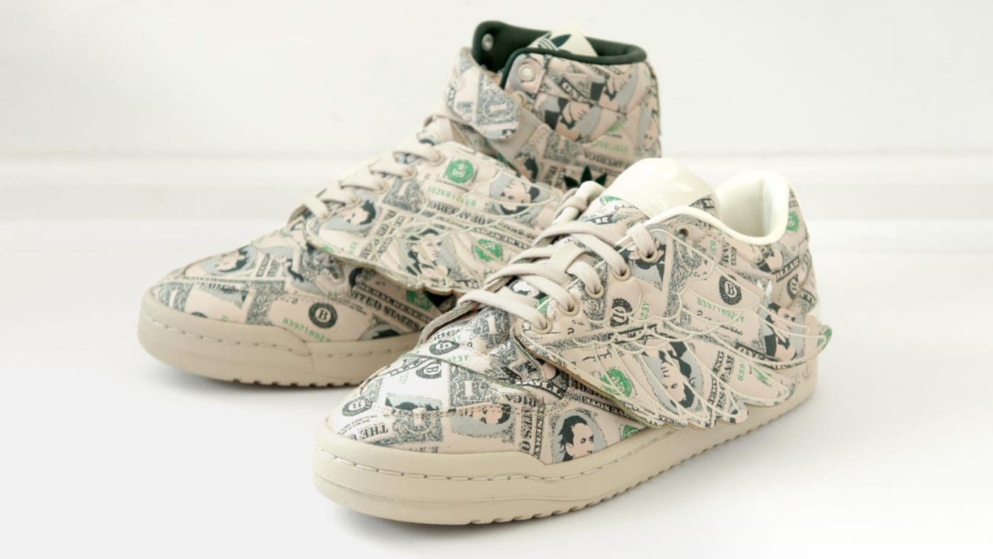 Jeremy Scott Adidas Money Sneakers Wings