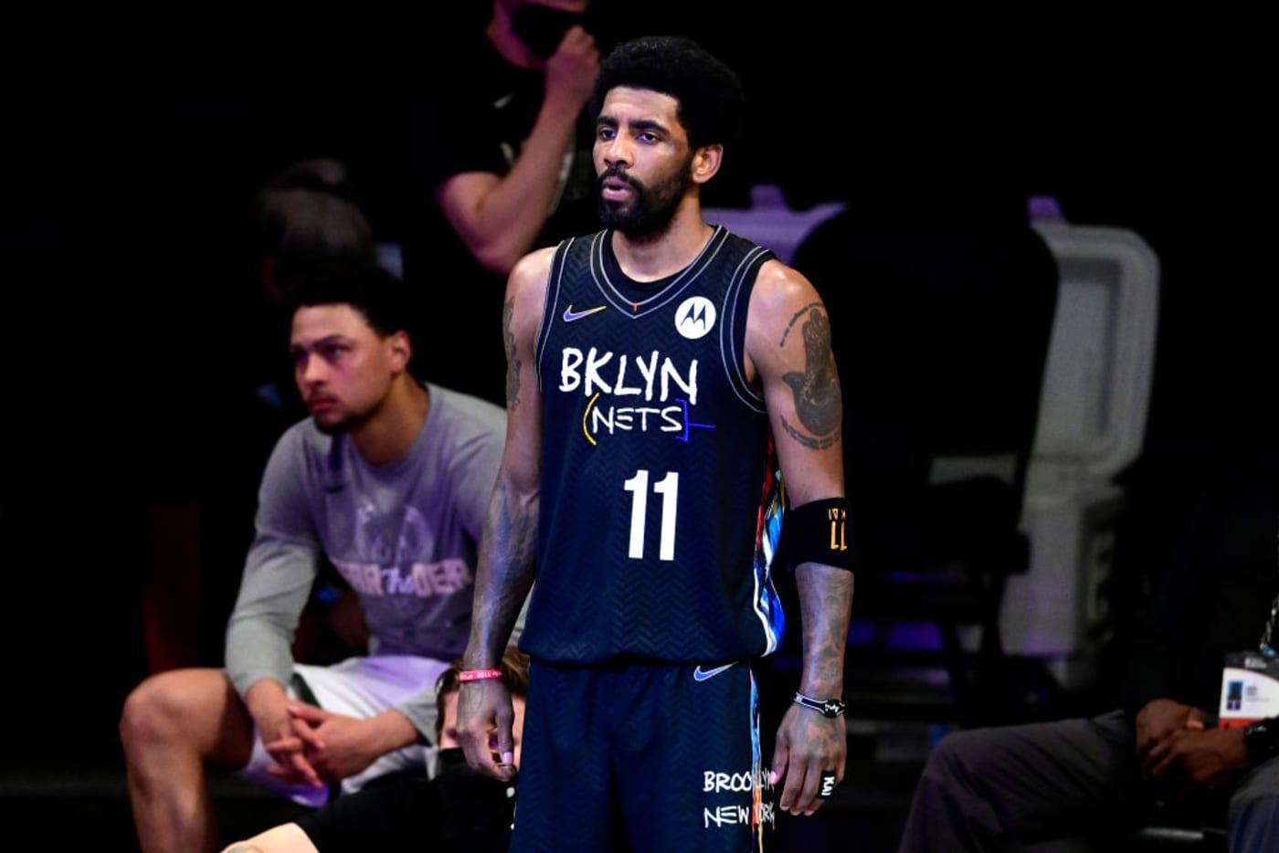 Kyrie Irving Nets Bucks Game 2 2021