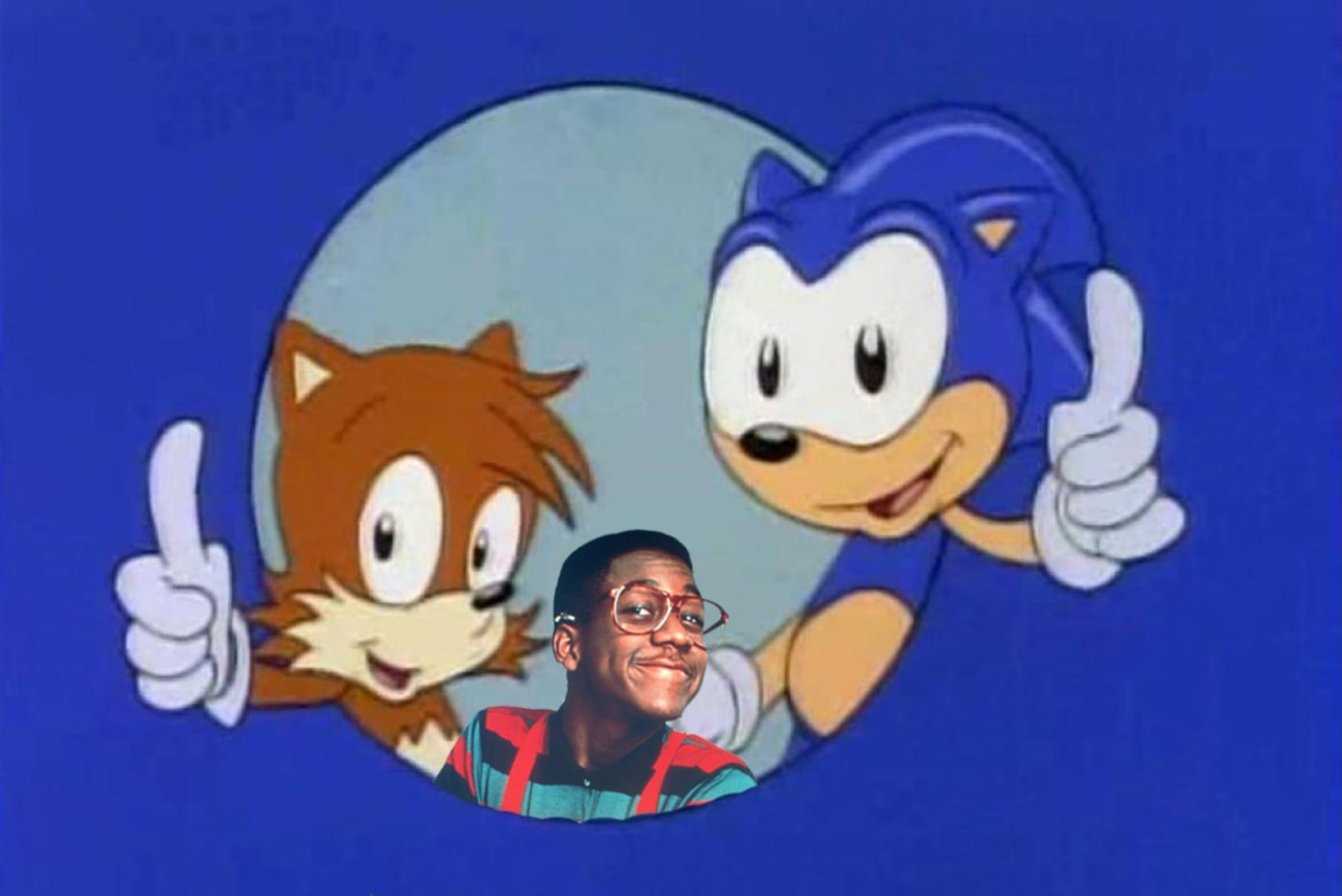 Sonic, Tails, and Urkel