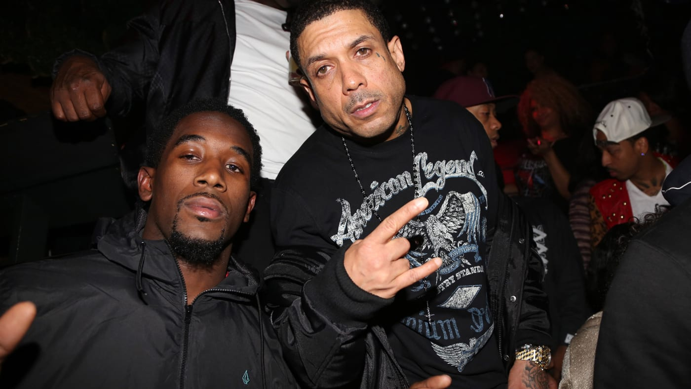 This is a photo of Benzino.