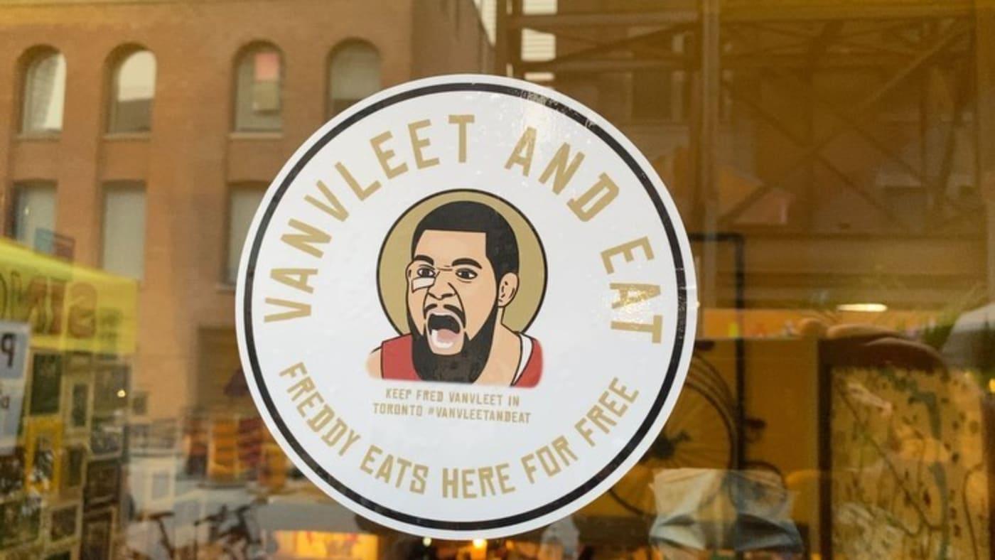 fred vanvleet resign raptors restaurants