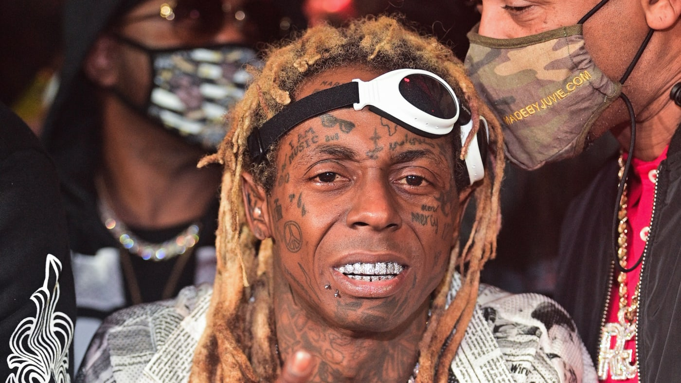 Lil Wayne attends Reginae Carter 22 Hot Girl Birthday