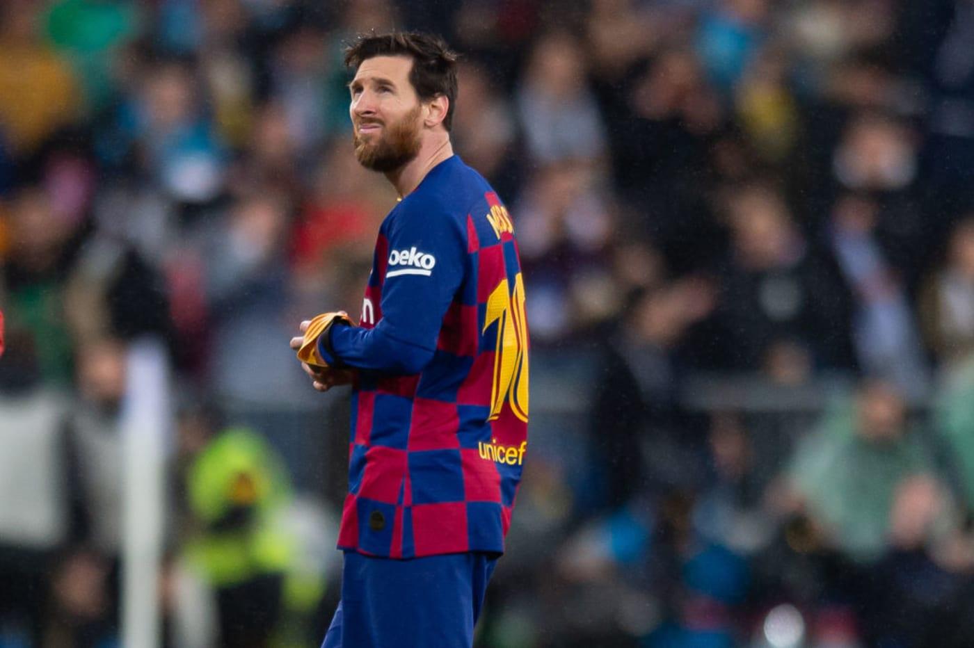 Lionel Messi Barcelona Real Madrid 2020 Madrid