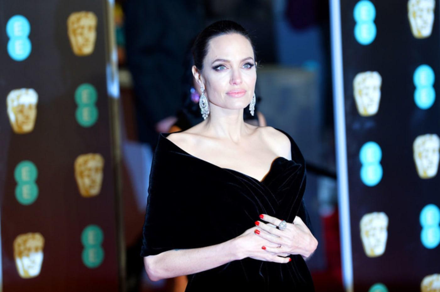 Angelina Jolie attends the EE British Academy Film Awards