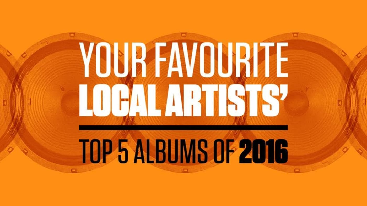 Your Favourite Local Artists' Top 5 Albums