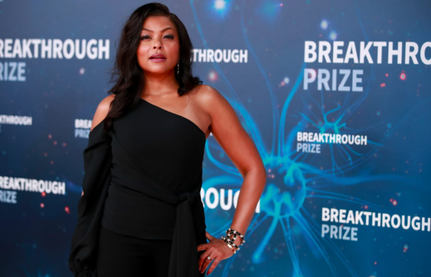 Taraji P. Henson attends the 8th Annual Breakthrough Prize Ceremony
