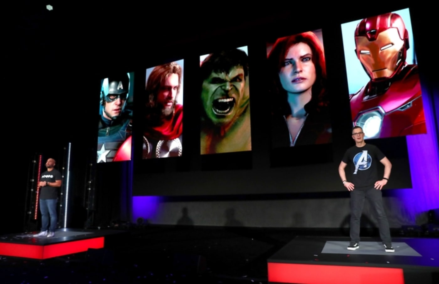 avengers square enix mvideo game