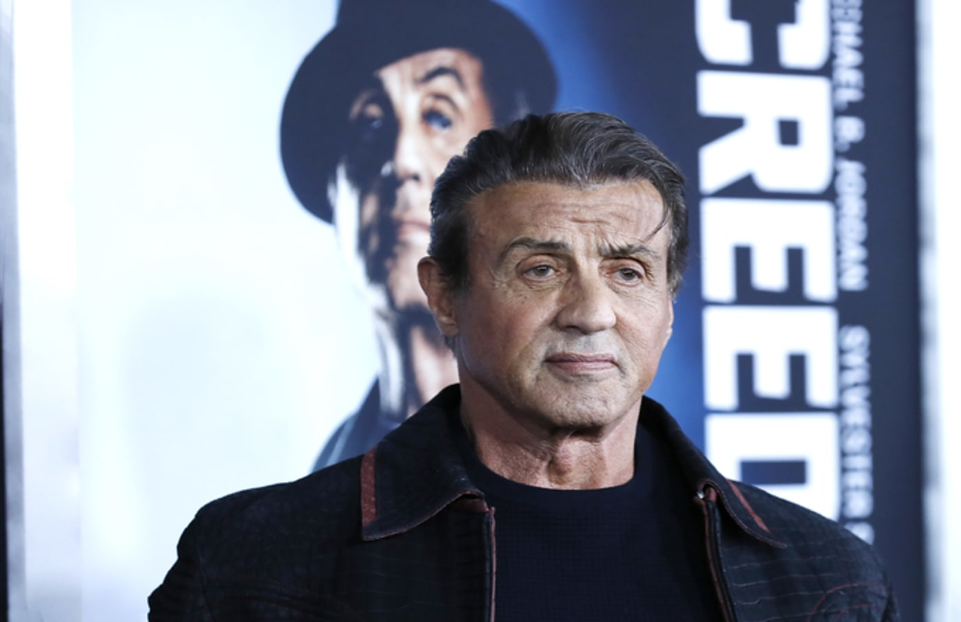 sylvester stallone creed 2 poster
