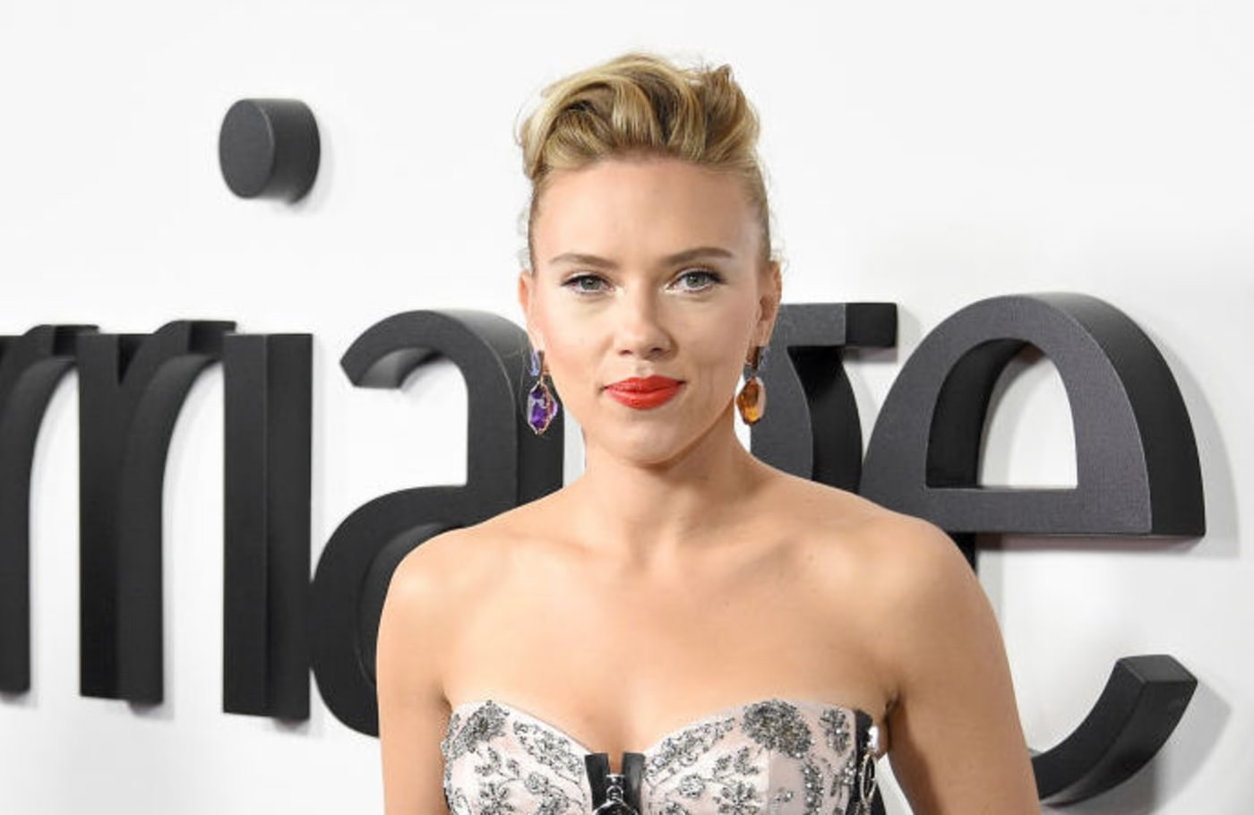 This is a picture of Scarlett Johansson.