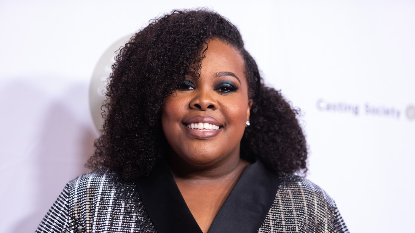 Amber Riley attends The Casting Society of America's 34th Annual Artios Awards.