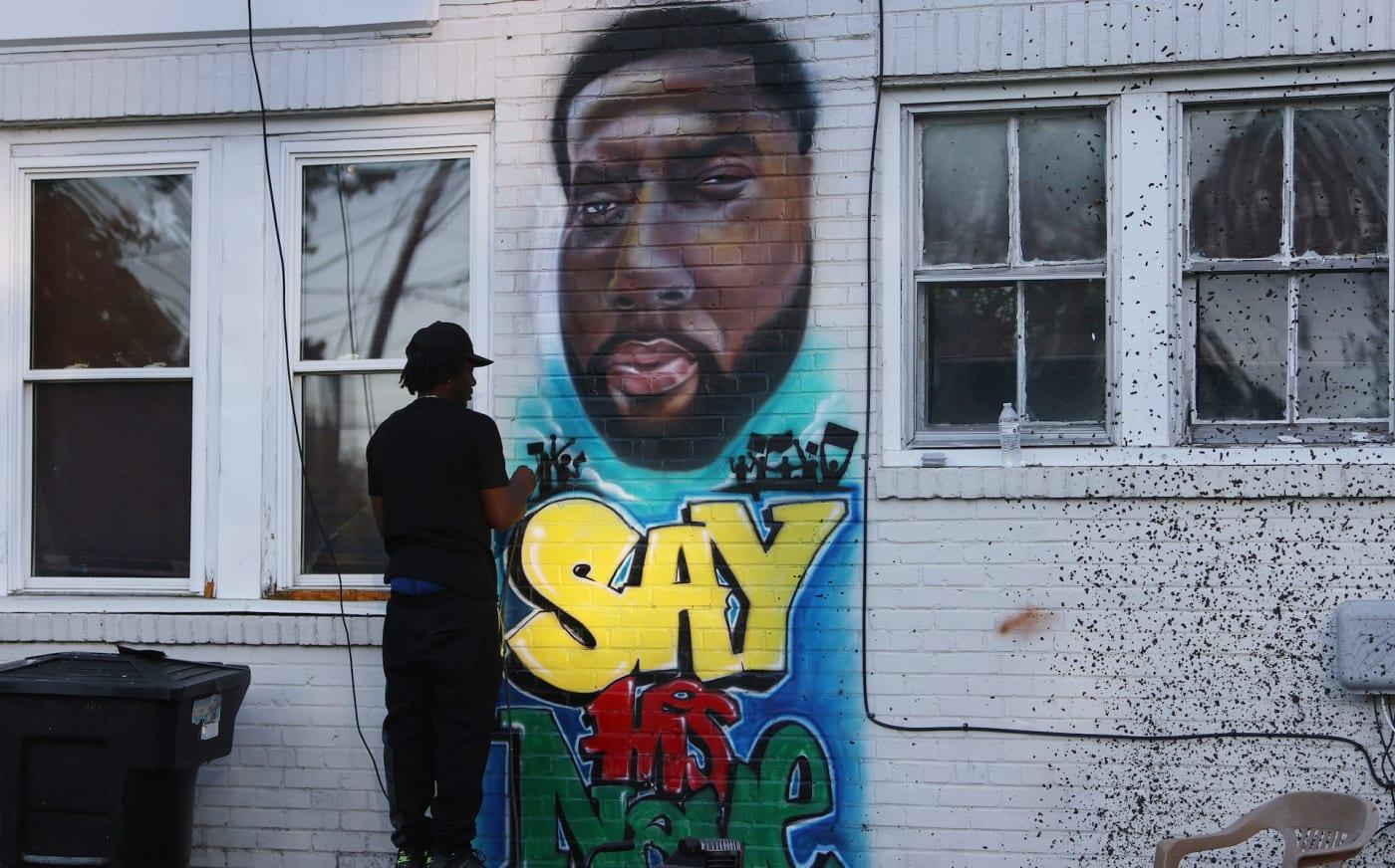 Andrew Brown mural