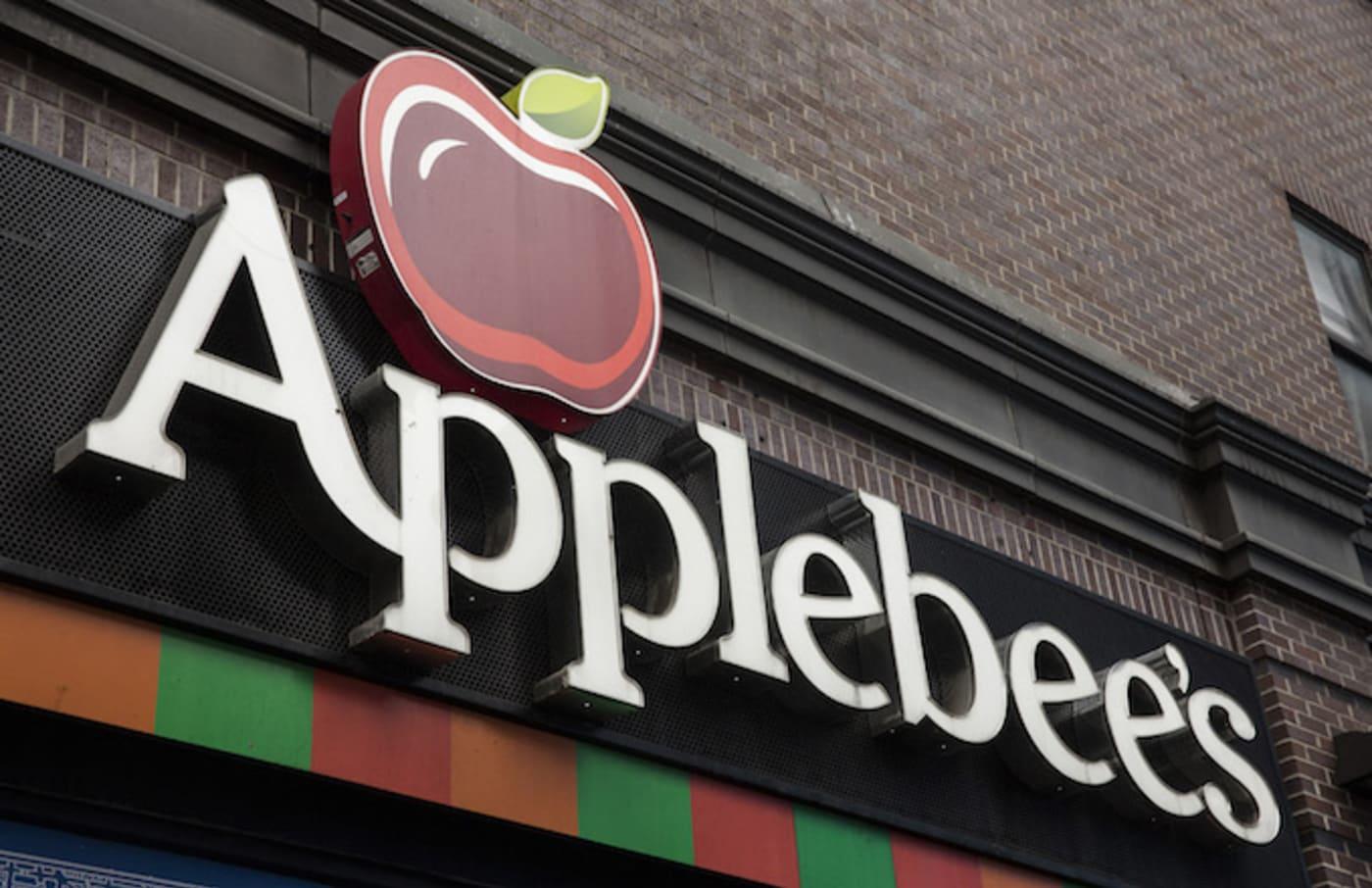 An Applebees restaurant