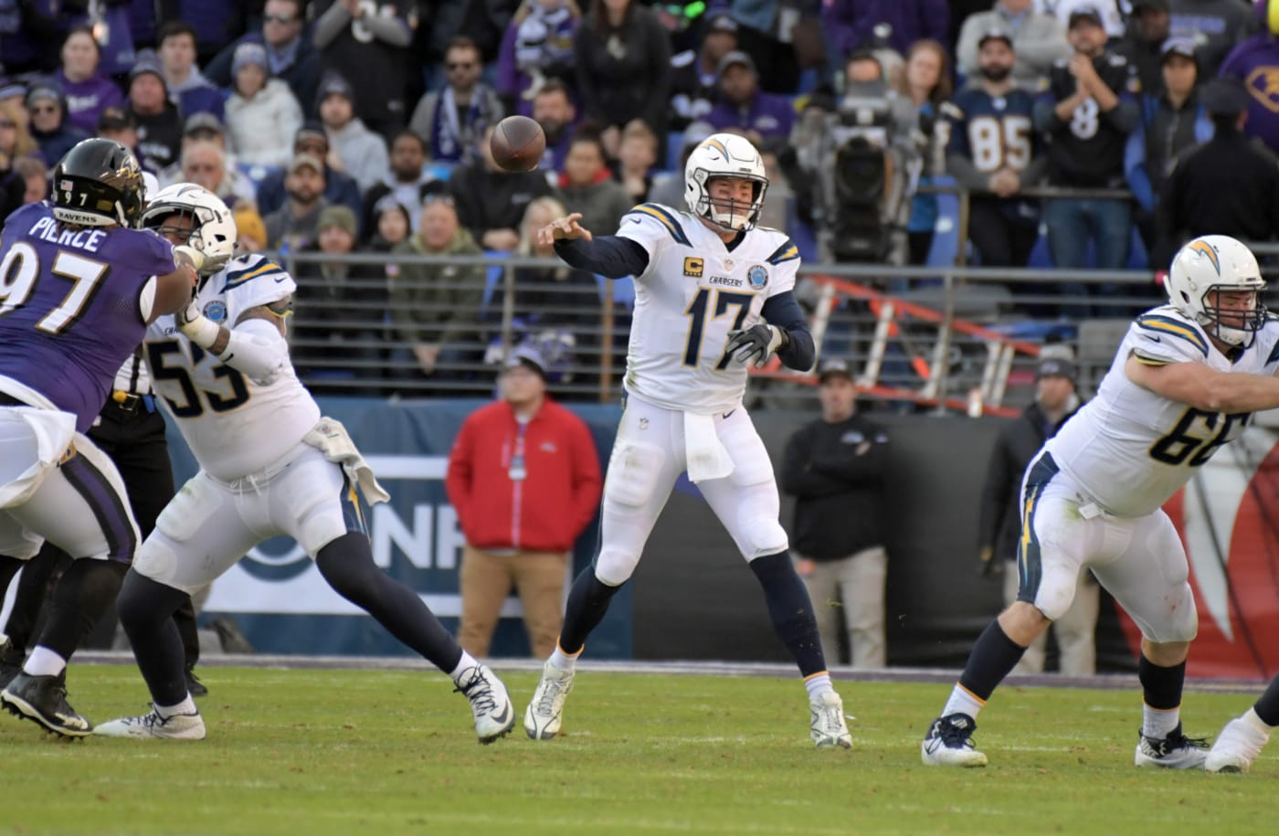 Philip Rivers Chargers Ravens Playoffs 2019