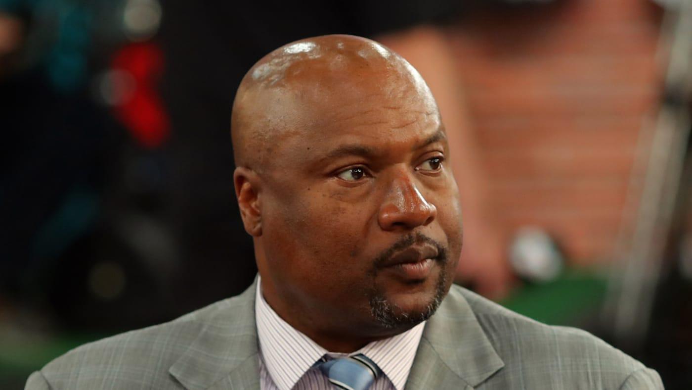 Bo Jackson looks on prior to the 2018 Major League Baseball Draft