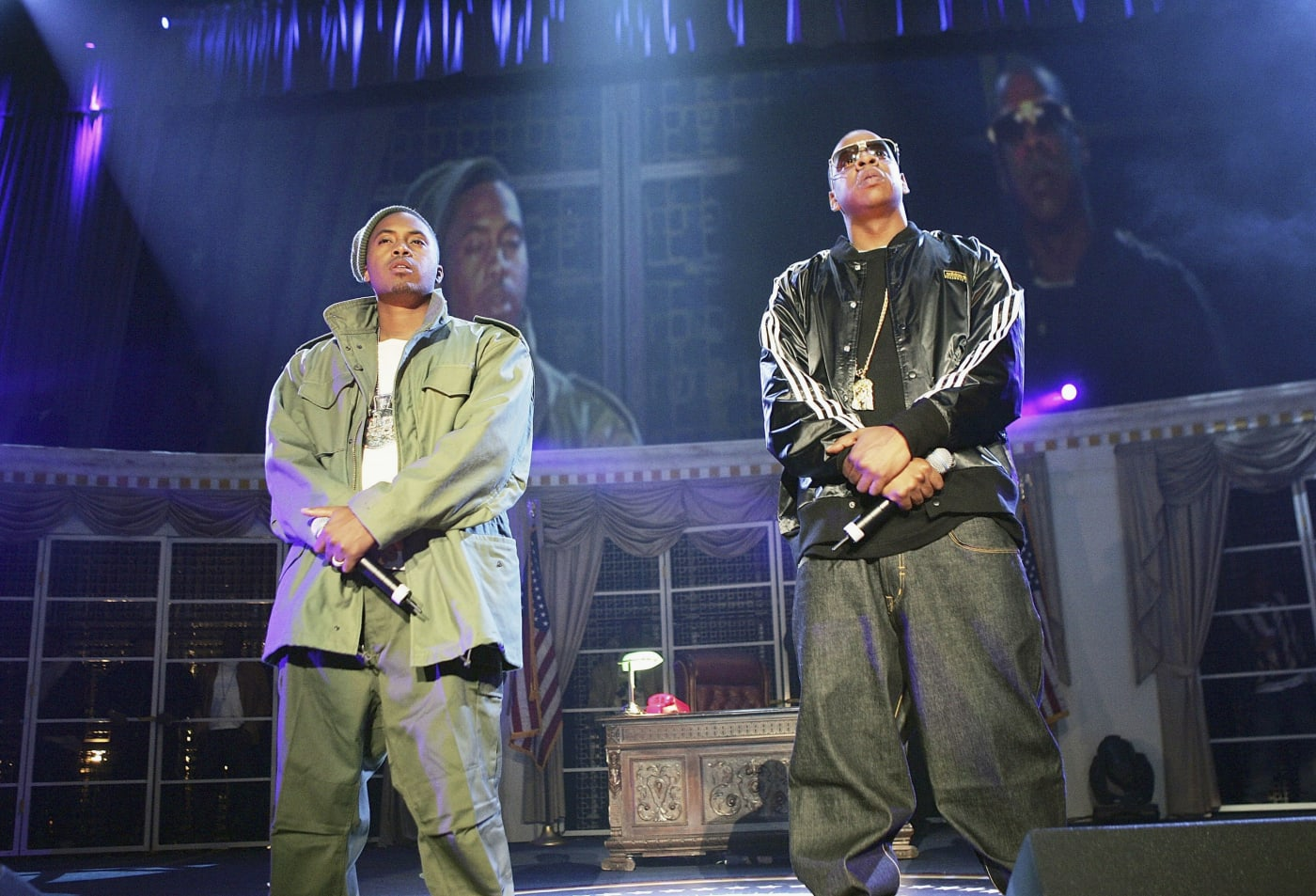 Nas and Jay Z
