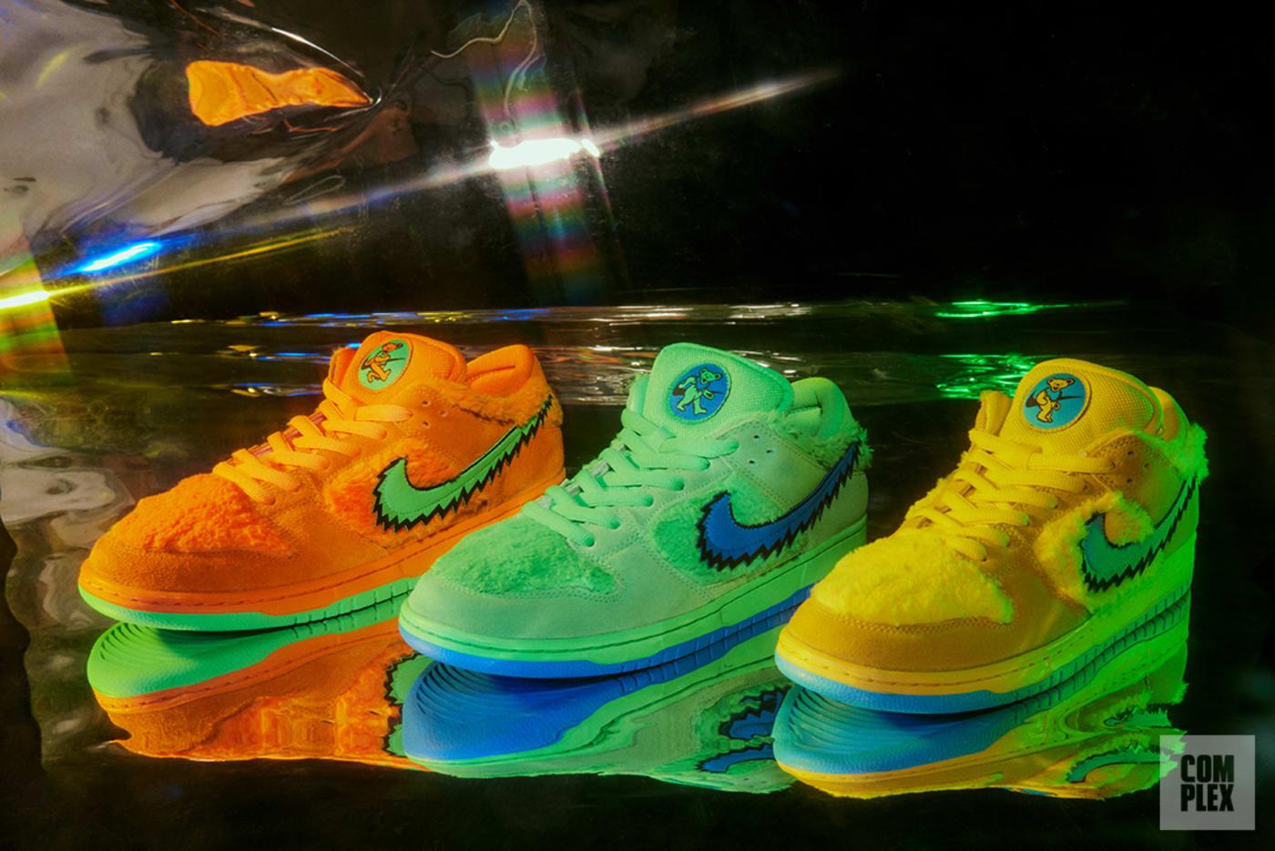 Grateful Dead Nike SB Dunks