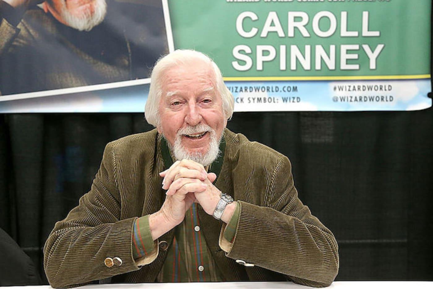 Puppeteer Caroll Spinney