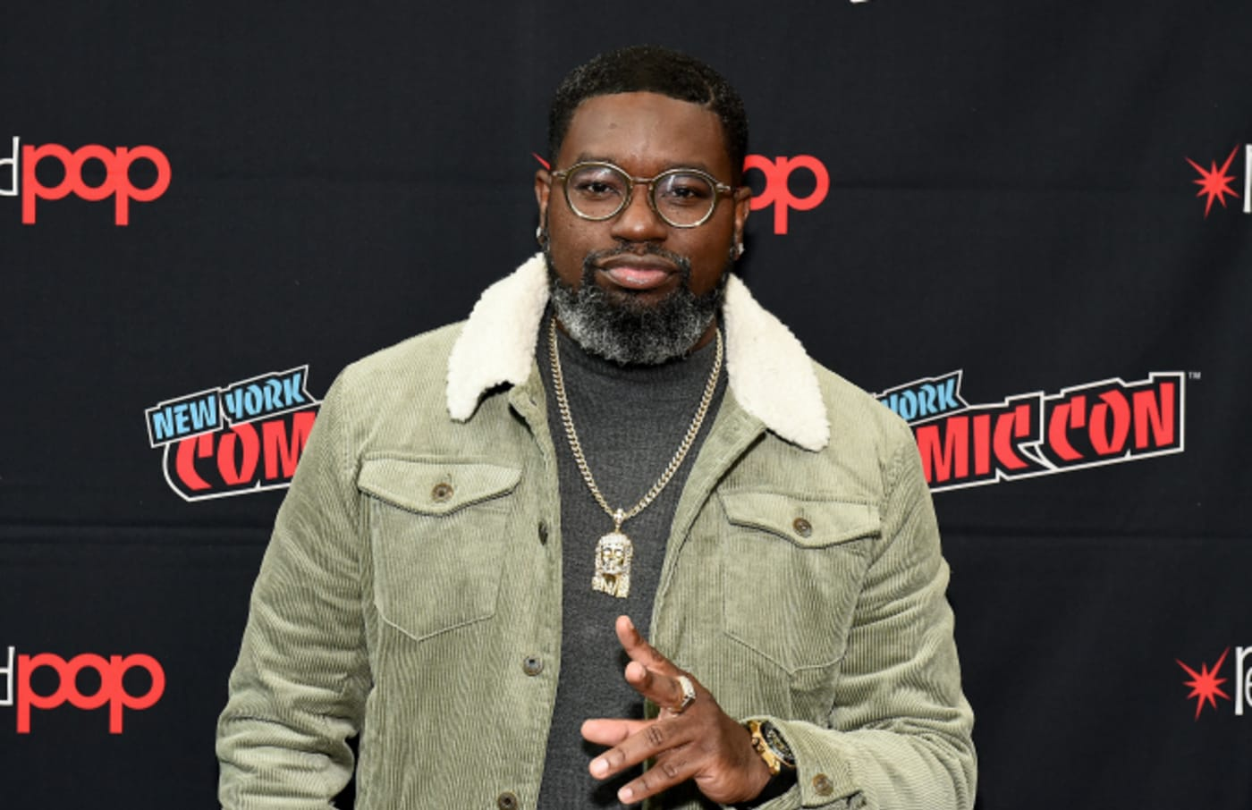 Lil Rel Howery attends New York Comic Con