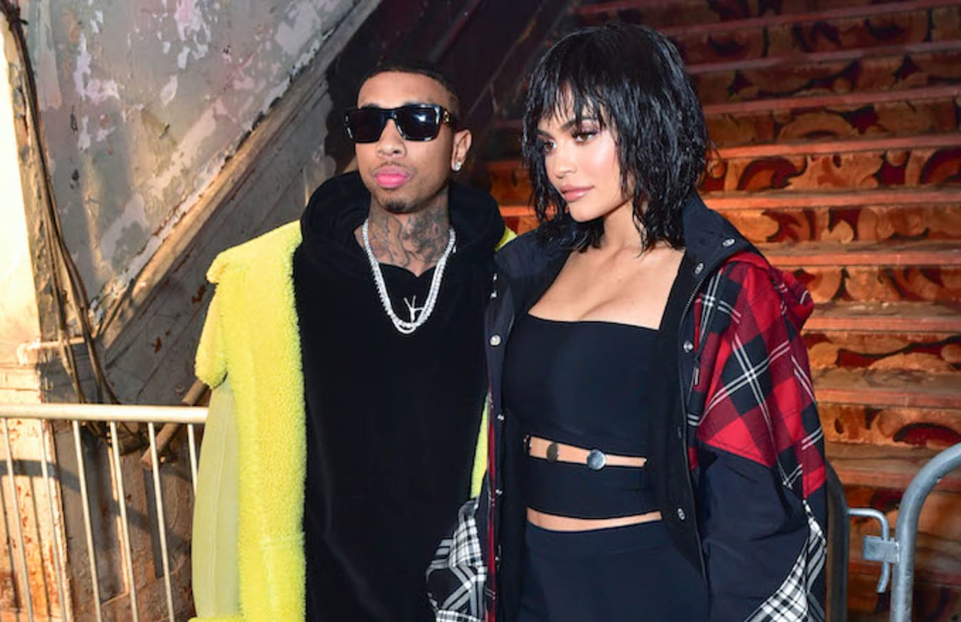 kylie jenner tyga hang out