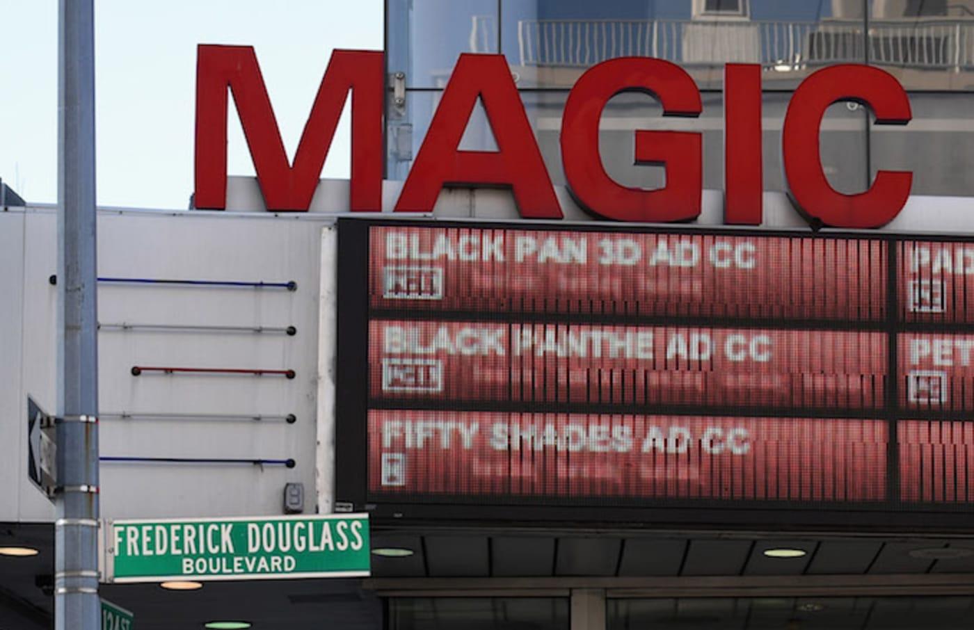 'Black Panther' Special Screening at AMC Magic Johnson Harlem