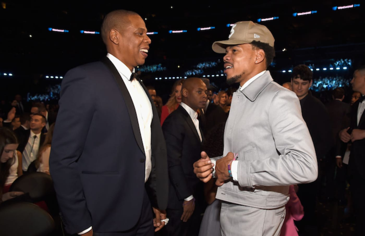 Jay Z and Chance the Rapper