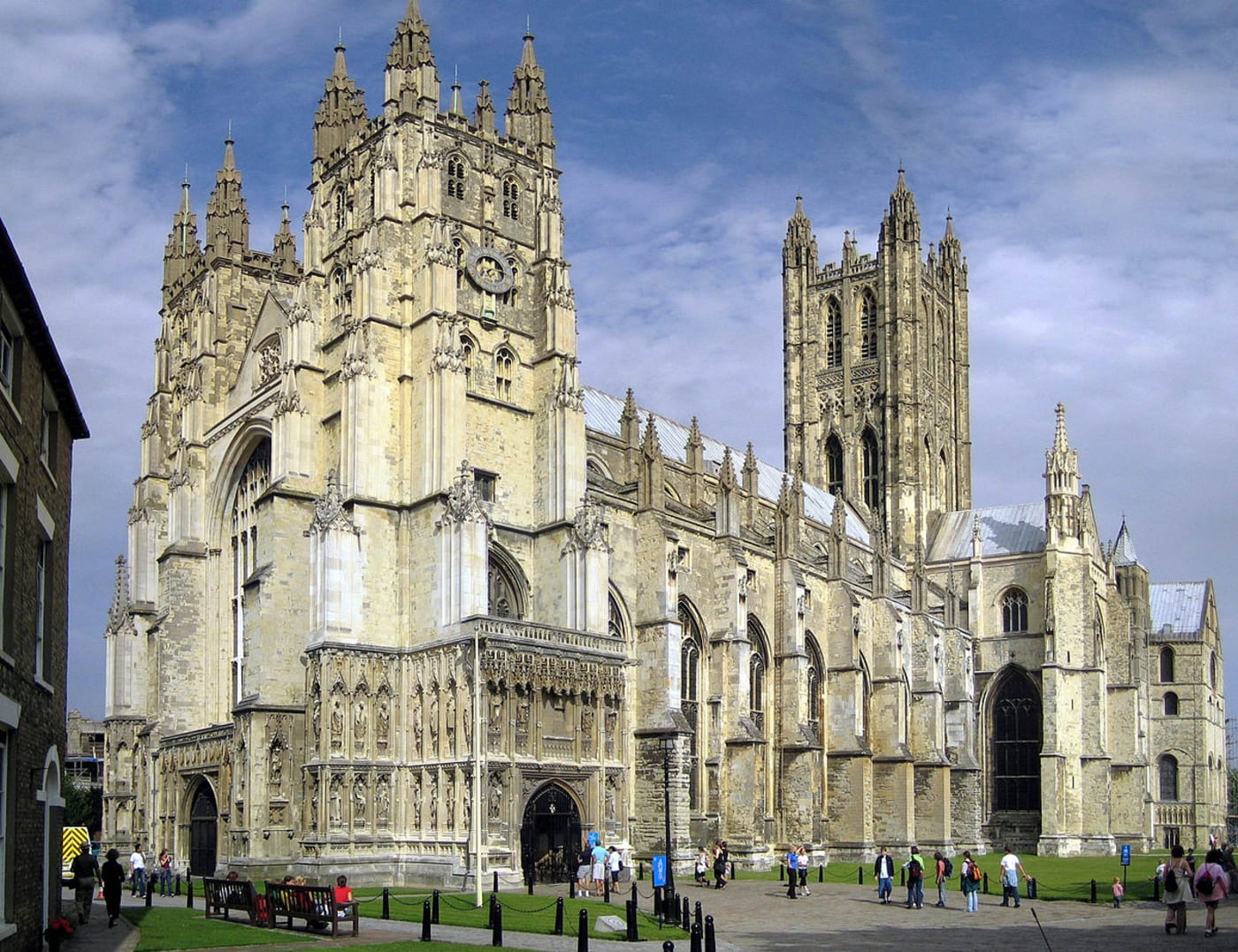 Canterbury Cathedral (WikiCommons)