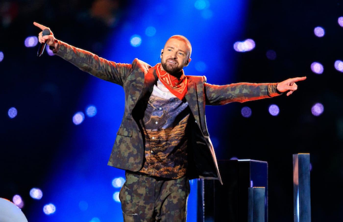 Recording artist Justin Timberlake