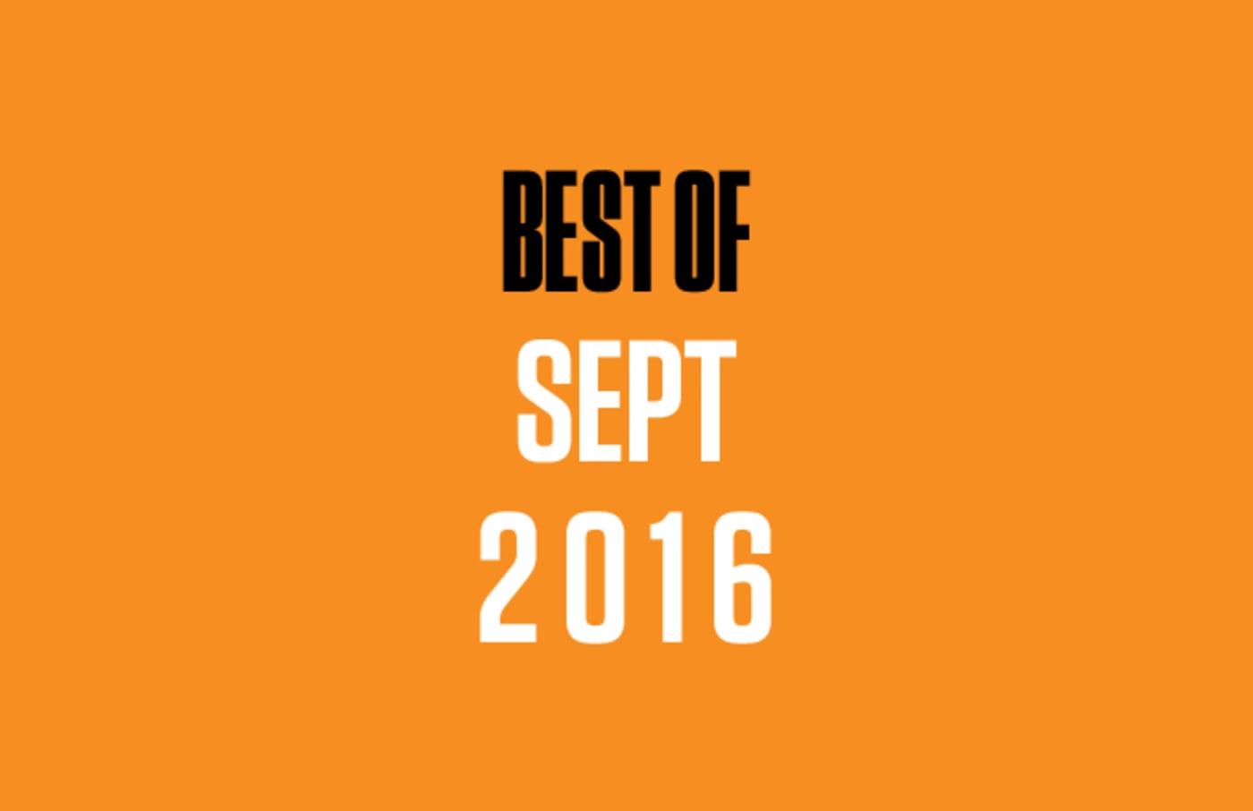 Best of SoundCloud Sept. '16 lead.