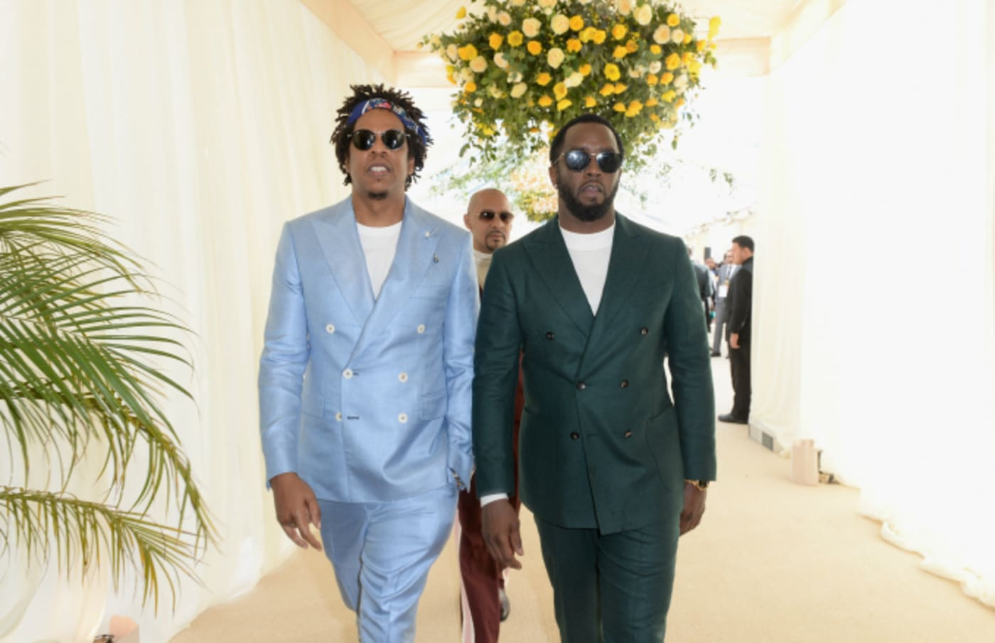 Jay Z and Diddy attend 2019 Roc Nation THE BRUNCH