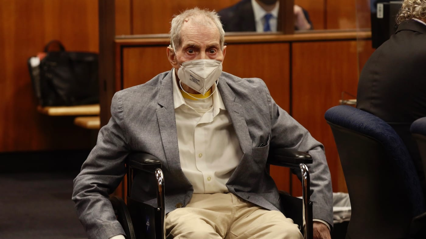 Photo of Robert Durst in court
