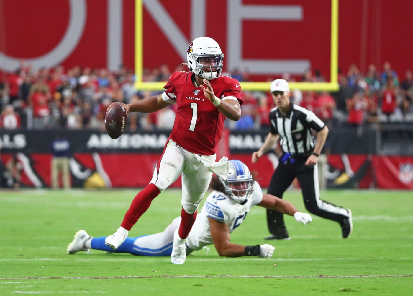 Kyler Murray Cardinals Lions 2019