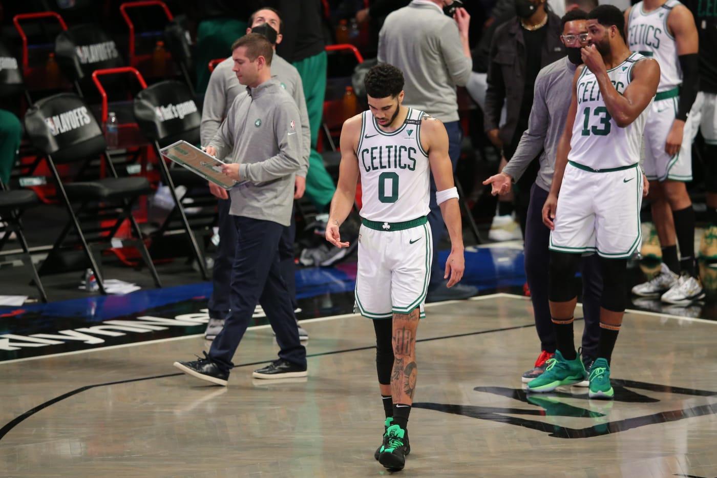 Jayson Tatum Brad Stevens Celtics Nets Playoffs 2021