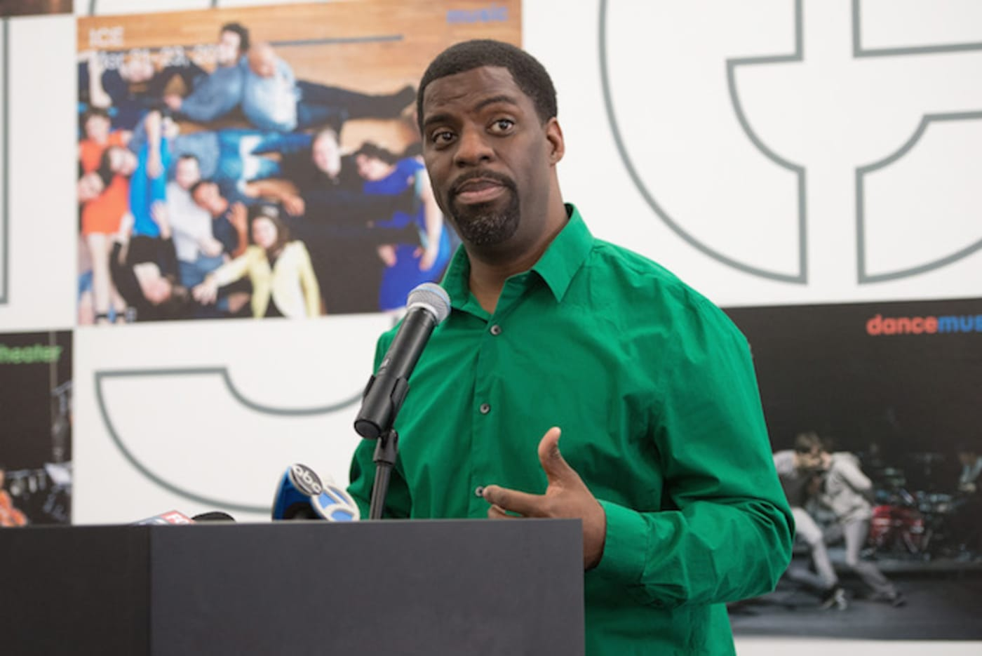 Rhymefest at the MCA in Chicago