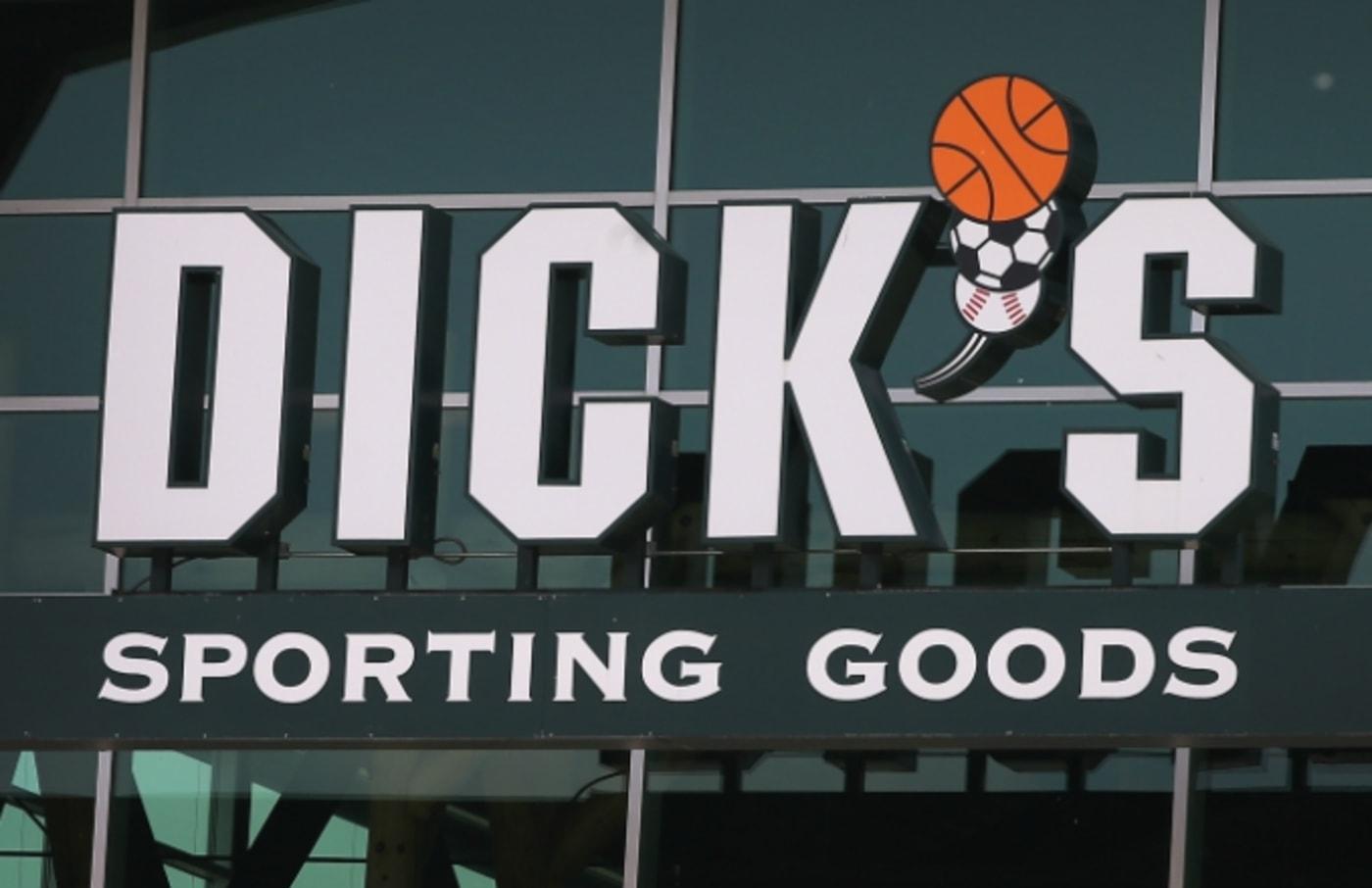 Dick's Sporting Goods.