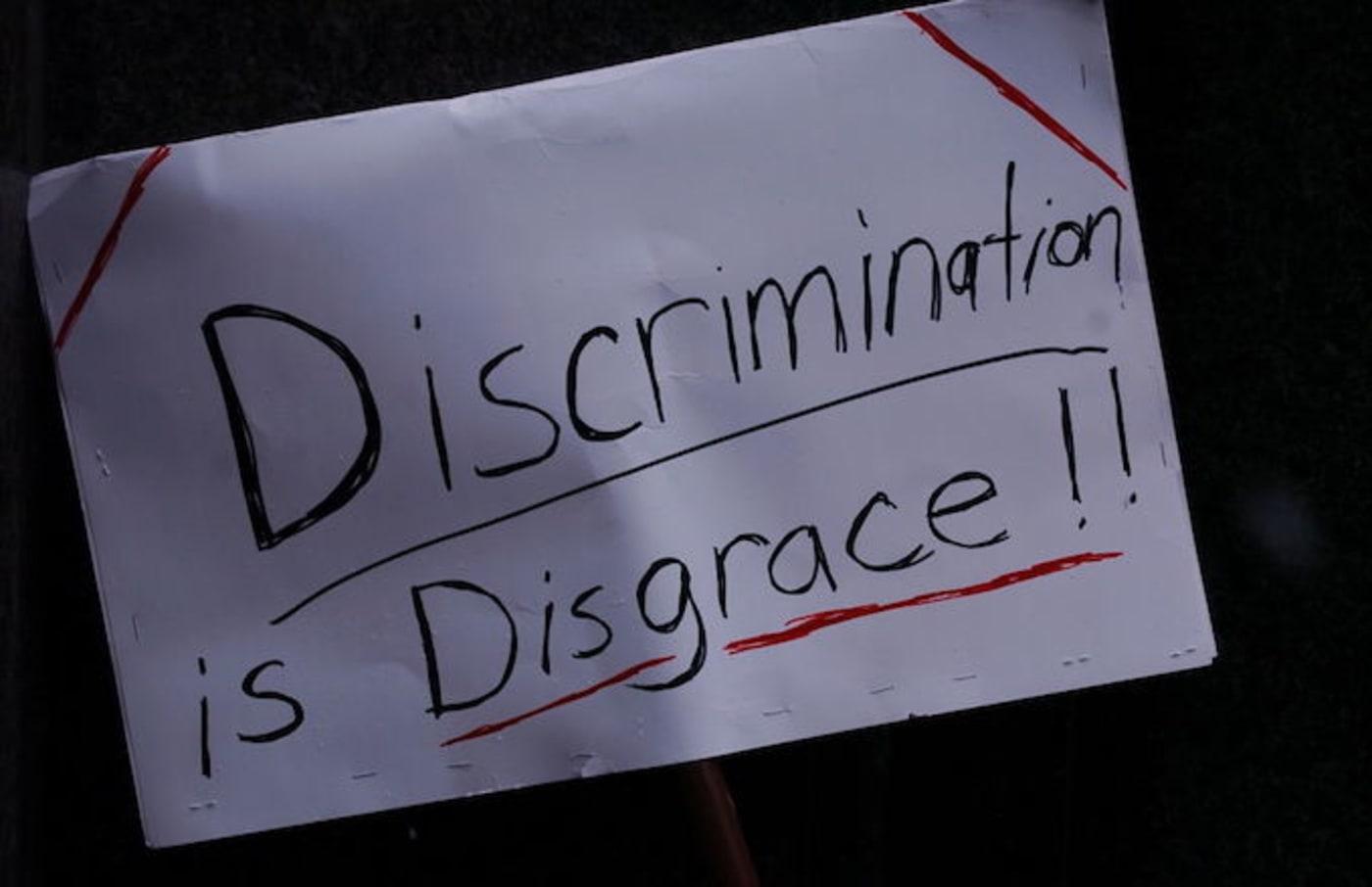 discrimination protest