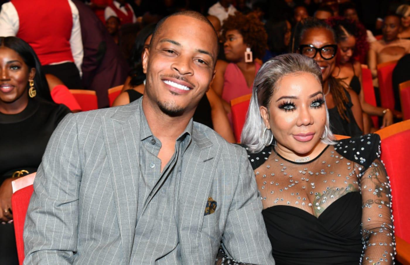 "T.I. and Tameka ""Tiny"" Harris attend 2019 Black Music Honors"