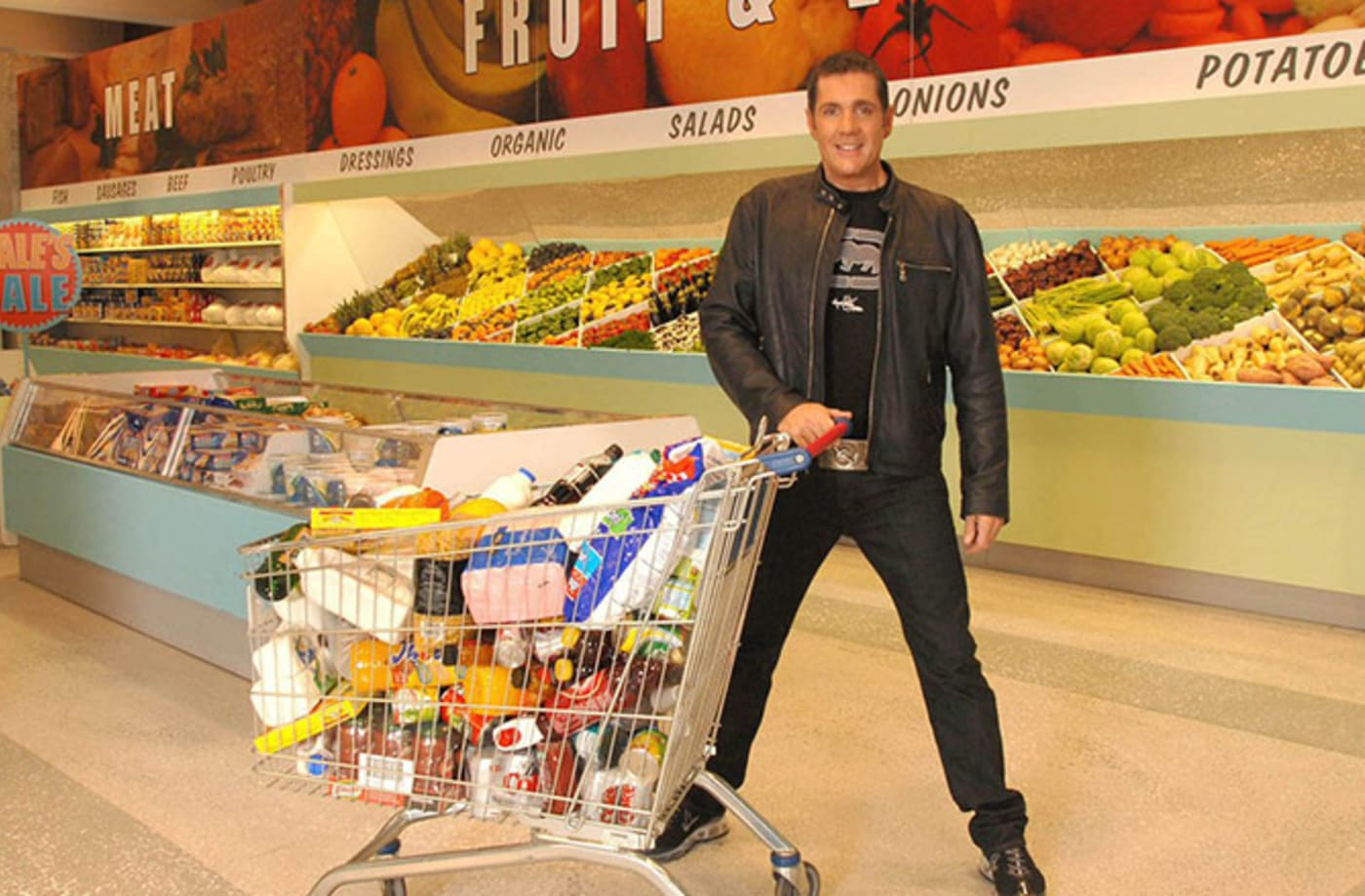 This is a photo of Supermarket Sweep.