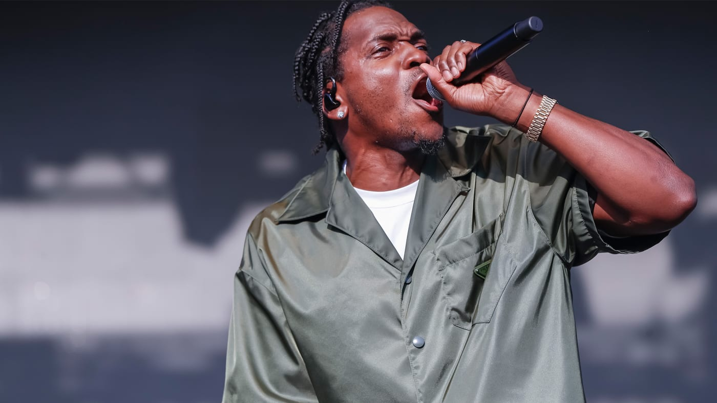 This is a photo of Pusha T