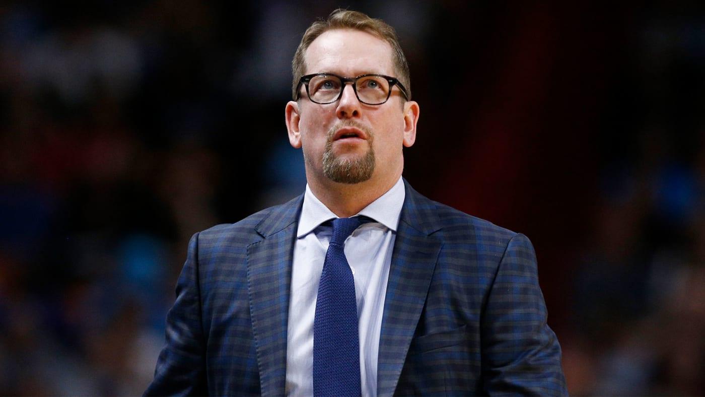 Toronto Raptors coach Nick Nurse