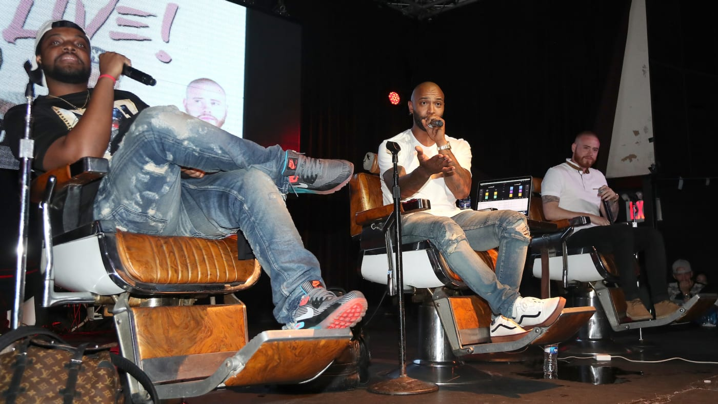 Rory, Mal, and Joe Budden Live Podcast in NYC